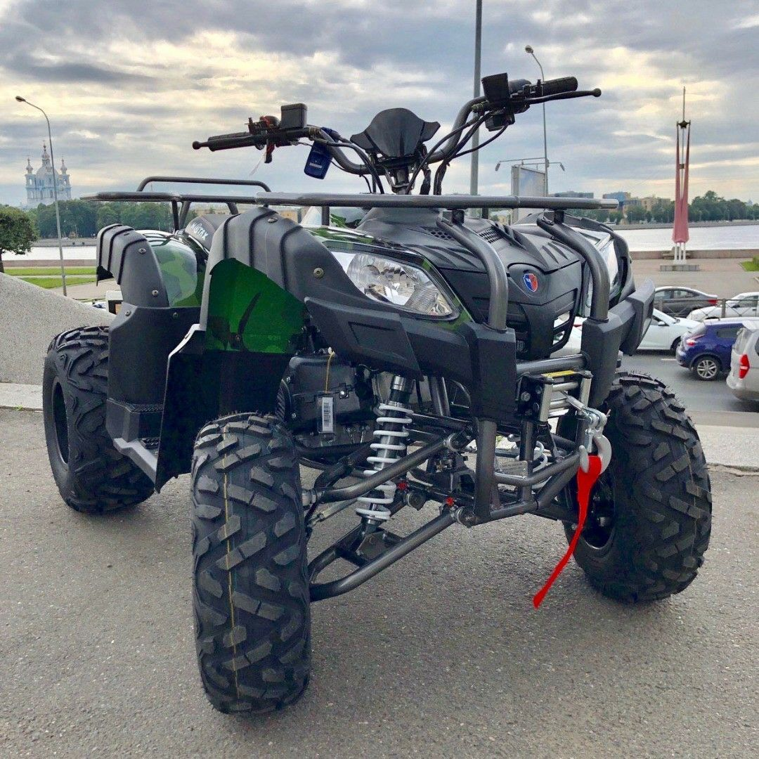 MOTAX ATV GRIZLIK 200 NEW (С электролебедкой)